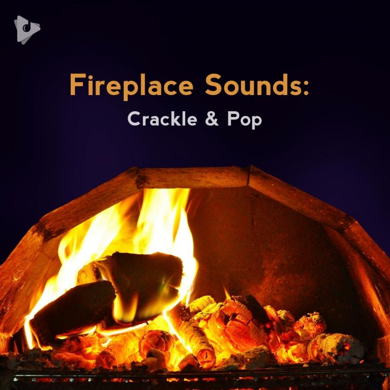Fireplace Sounds: Crackle & Pop