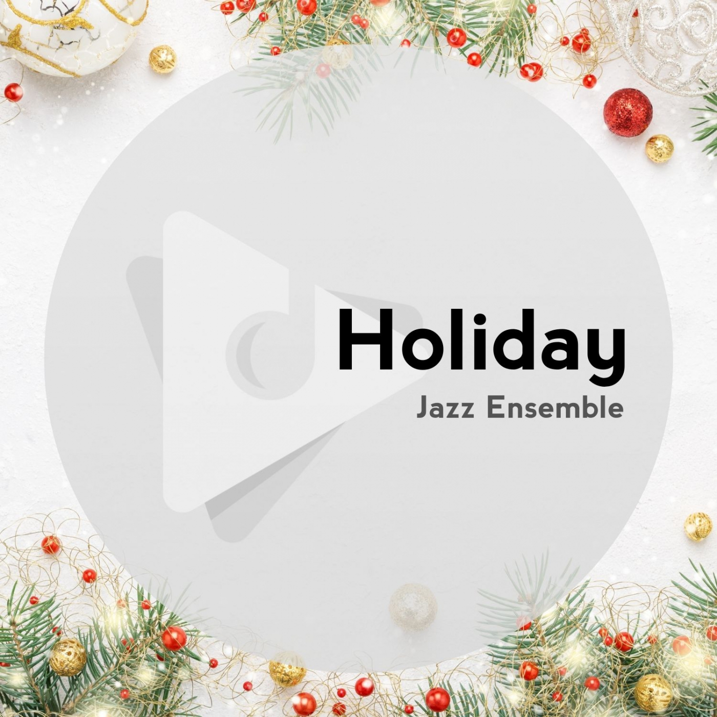 Holiday Jazz Ensemble