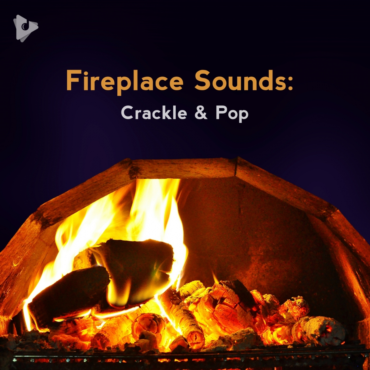 Fireplace Sounds: Crackle & Pop