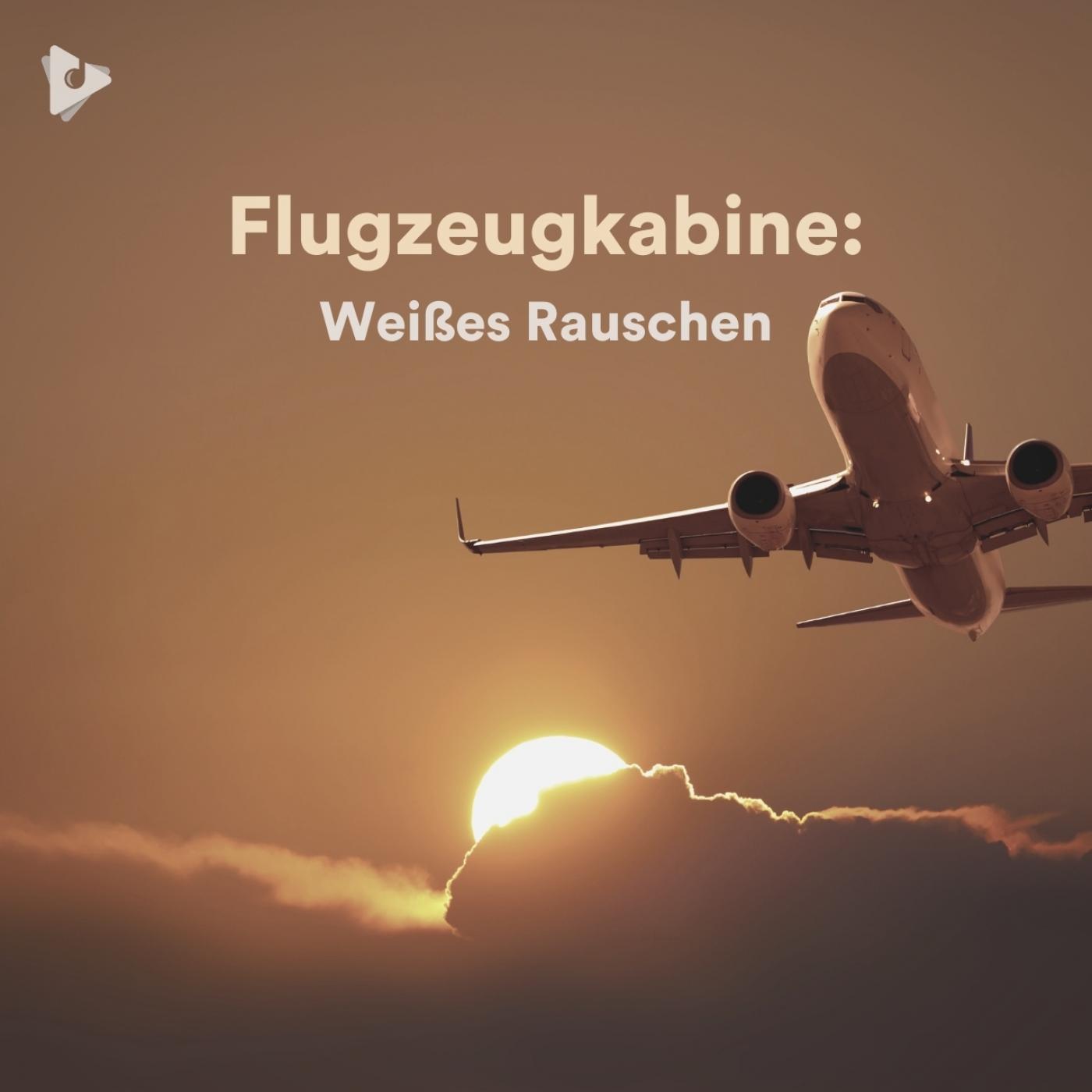 Flugzeugkabine: Weißes Rauschen