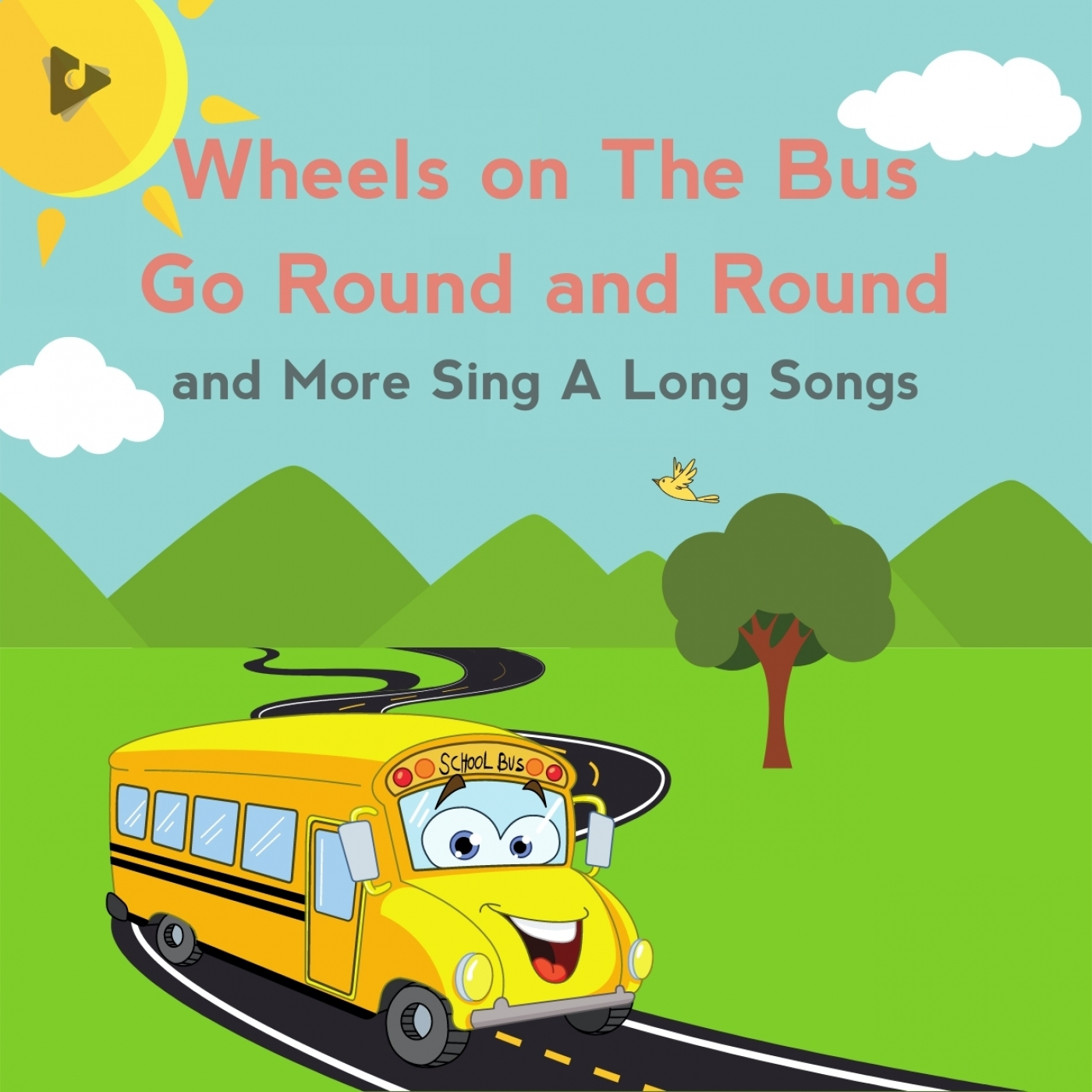 Wheels on The Bus Go Round and Round and More Sing A Long Songs