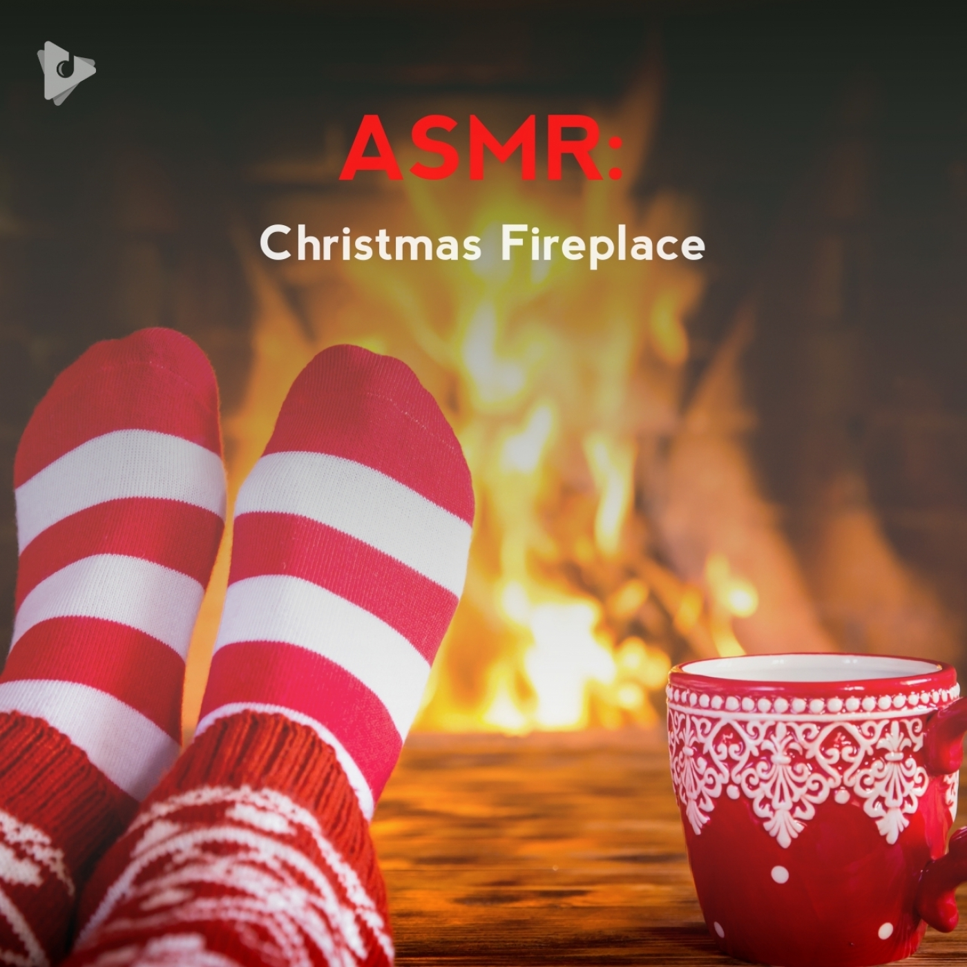 ASMR: Christmas Fireplace