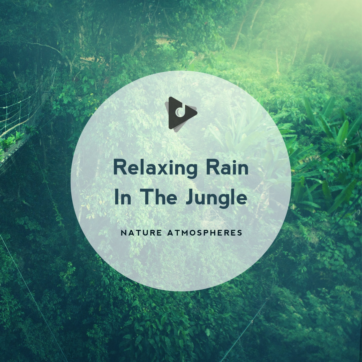 Relaxing Rain In The Jungle