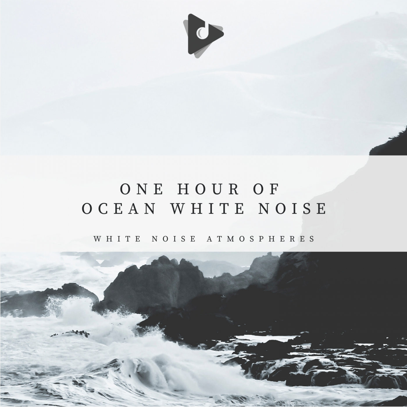 1 Hour of Ocean White Noise