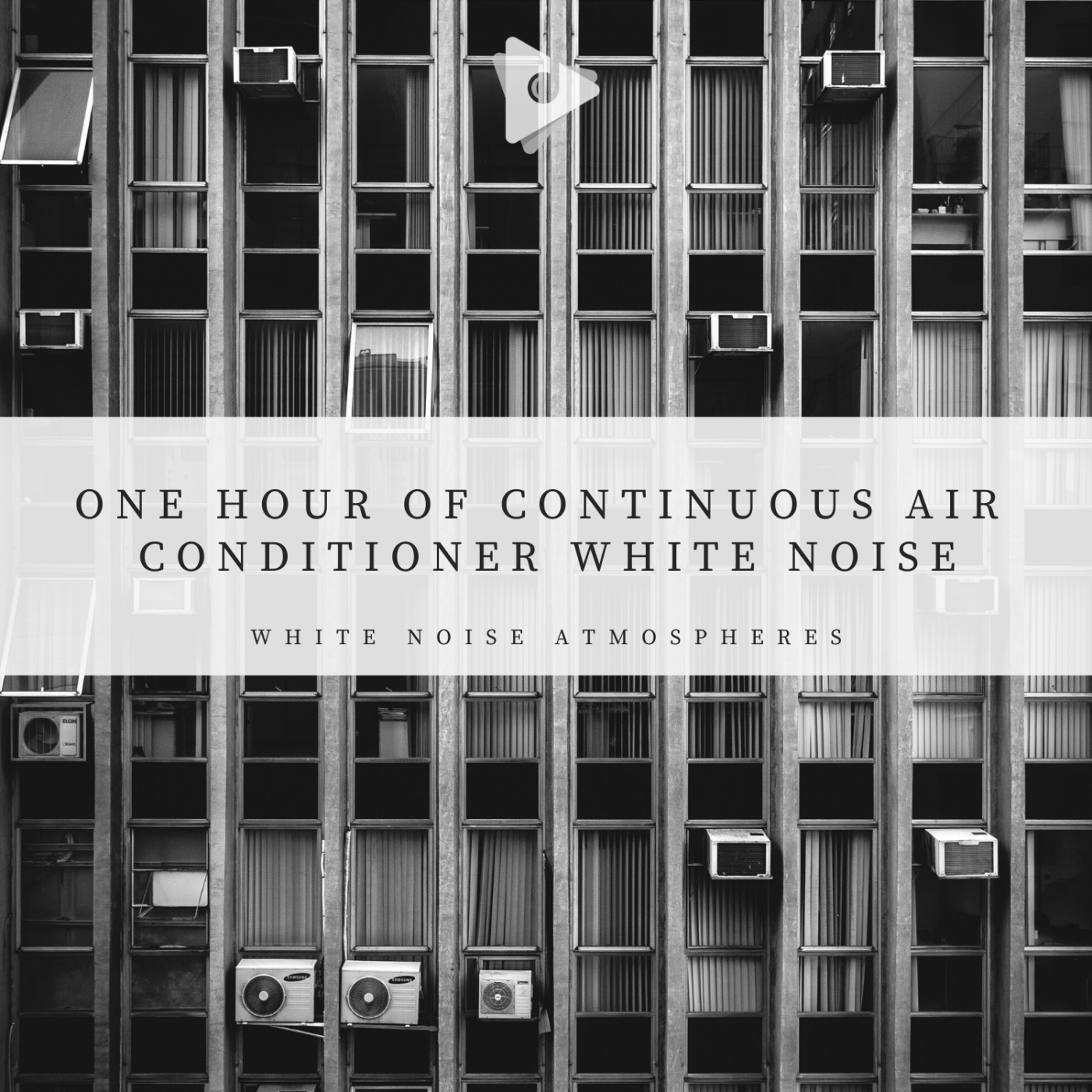 1 Hour of Continuous Air Conditioner White Noise