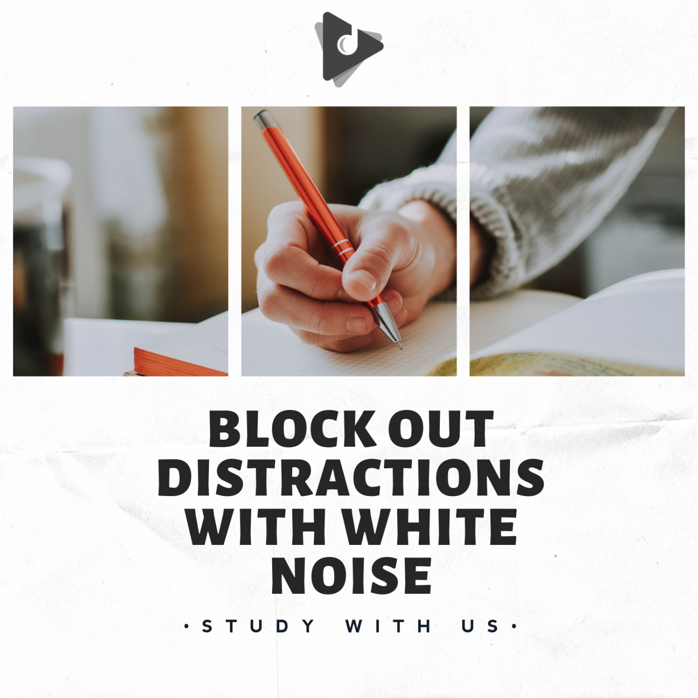 Block Out Distractions With White Noise