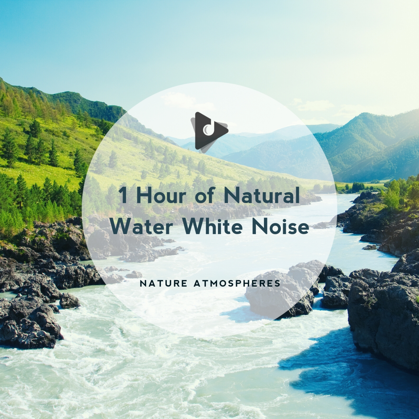 1 Hour of Natural Water White Noise