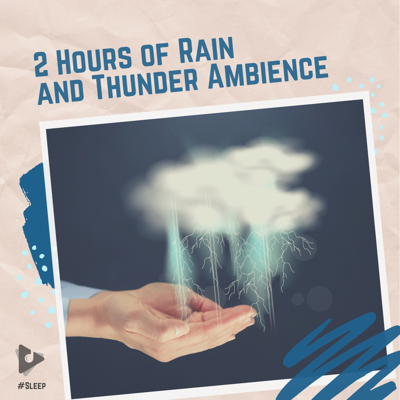 2 Hours of Rain and Thunder Ambience