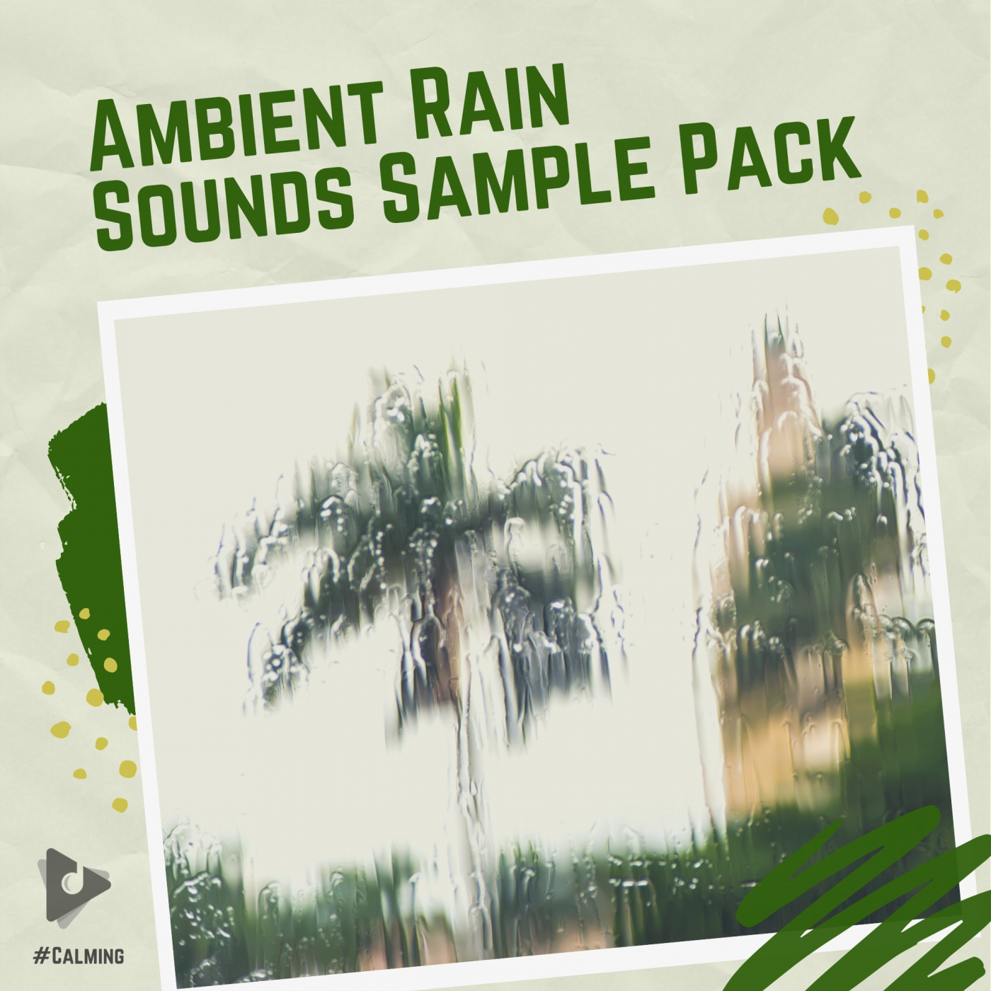 Ambient Rain Sounds Sample Pack