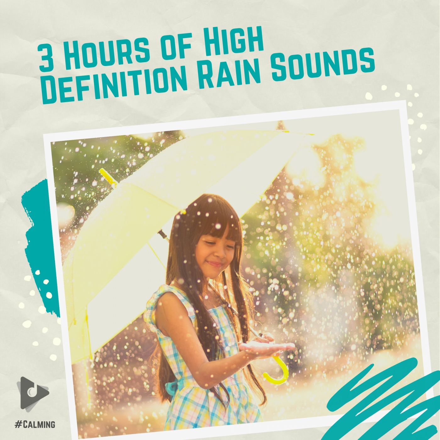 3 Hours of High Definition Rain Sounds