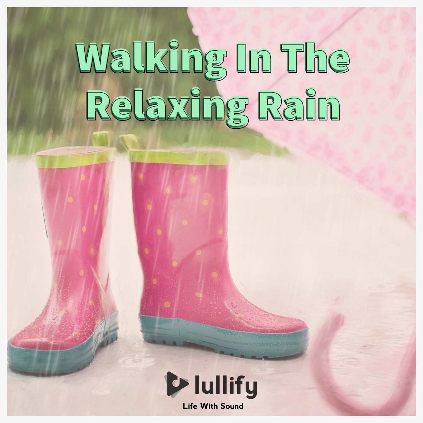 Walking In The Relaxing Rain
