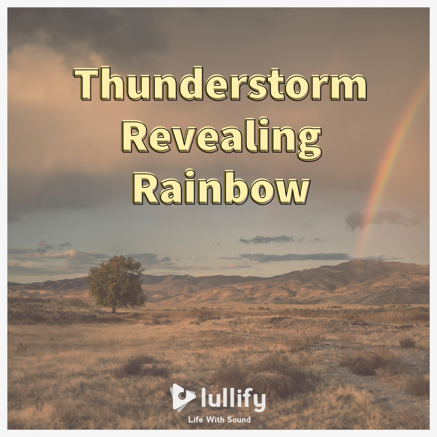 Thunderstorm Revealing Rainbow