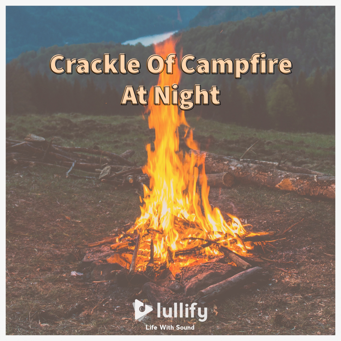Crackle Of Campfire At Night