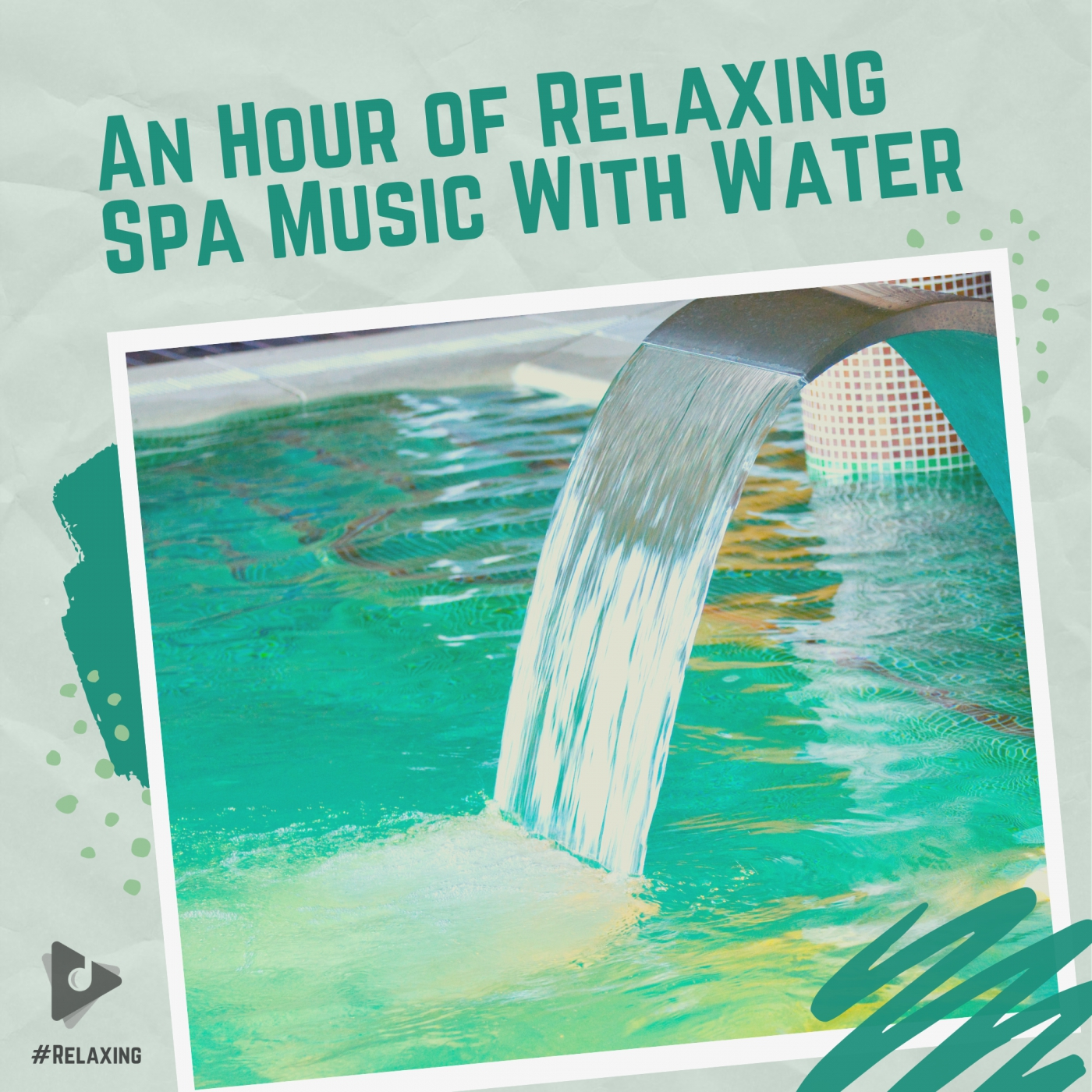An Hour of Relaxing Spa Music With Water