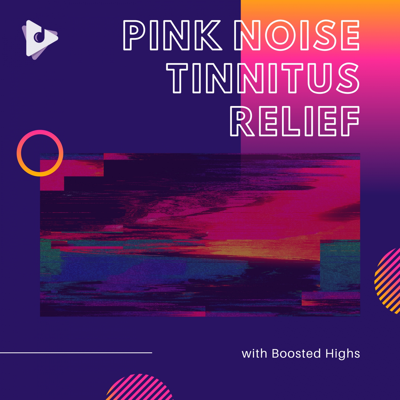 Pink Noise Tinnitus Relief with Boosted Highs
