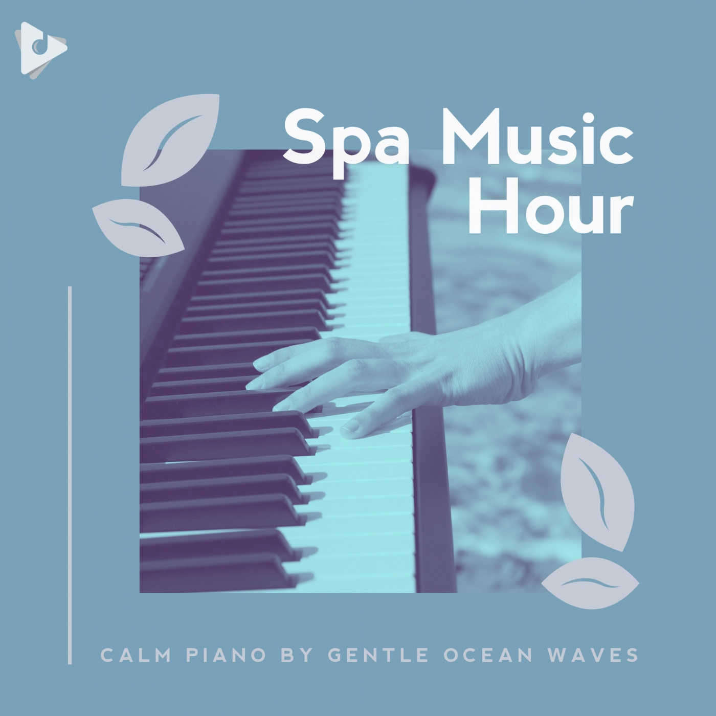 Calm Piano by Gentle Ocean Waves