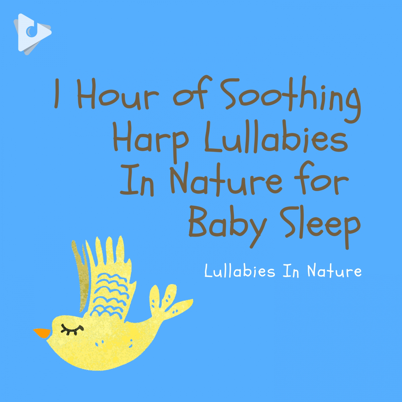 1 Hour of Soothing Harp Lullabies In Nature for Baby Sleep