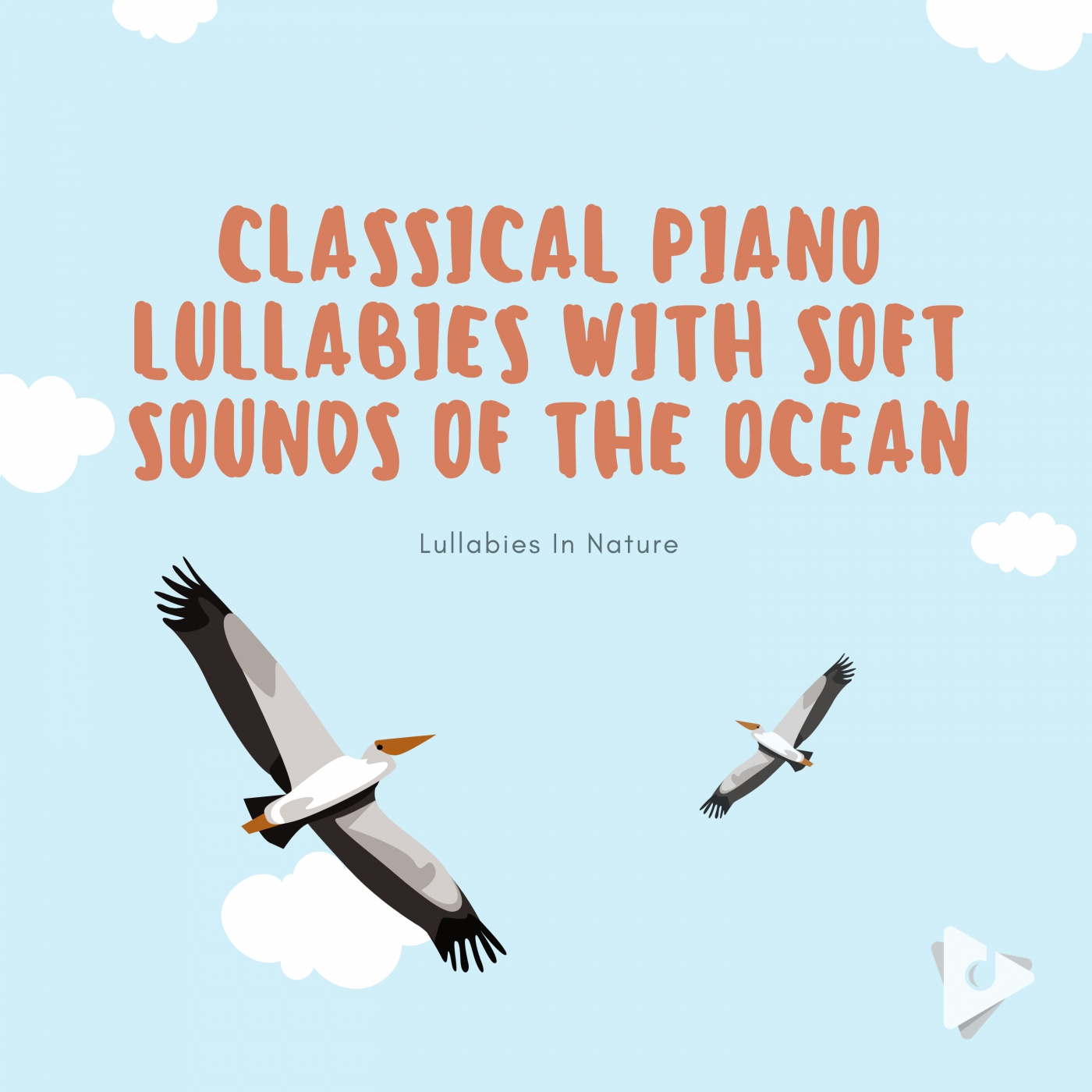 Classical Piano Lullabies with Soft Sounds of the Ocean