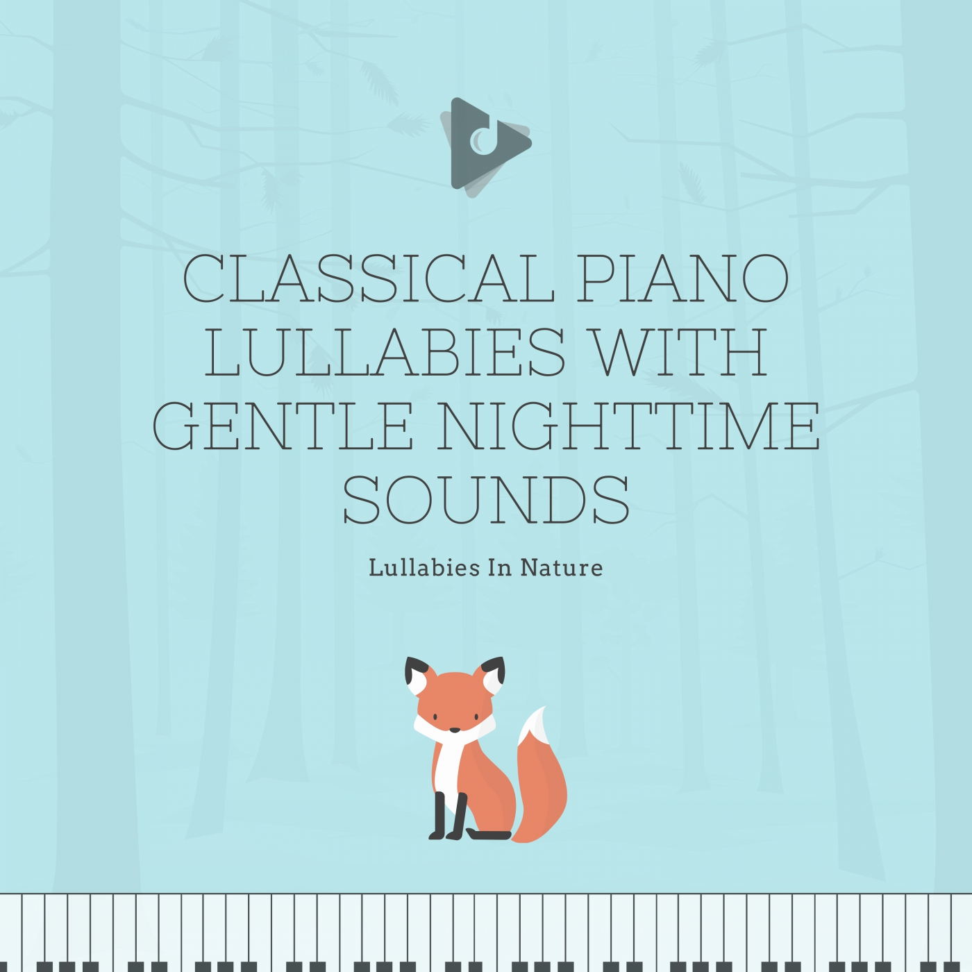 Classical Piano Lullabies with Gentle Nighttime Sounds