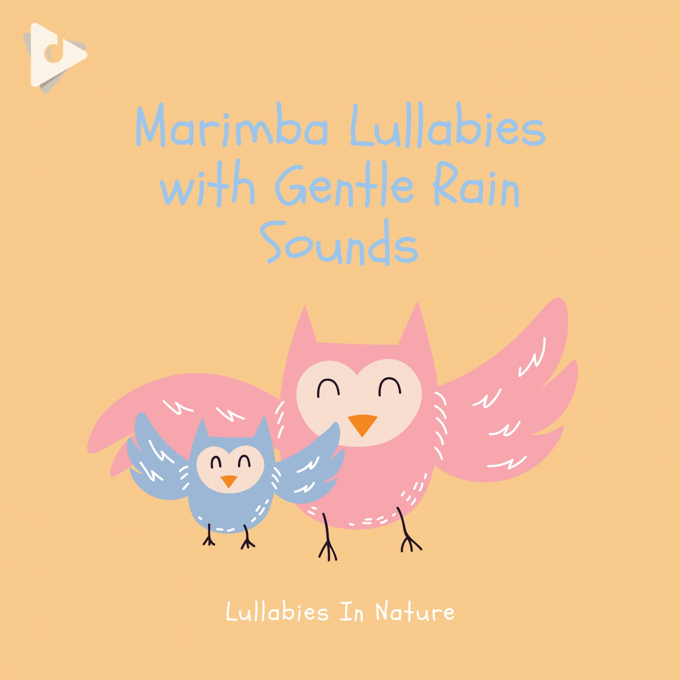 Marimba Lullabies with Gentle Rain Sounds