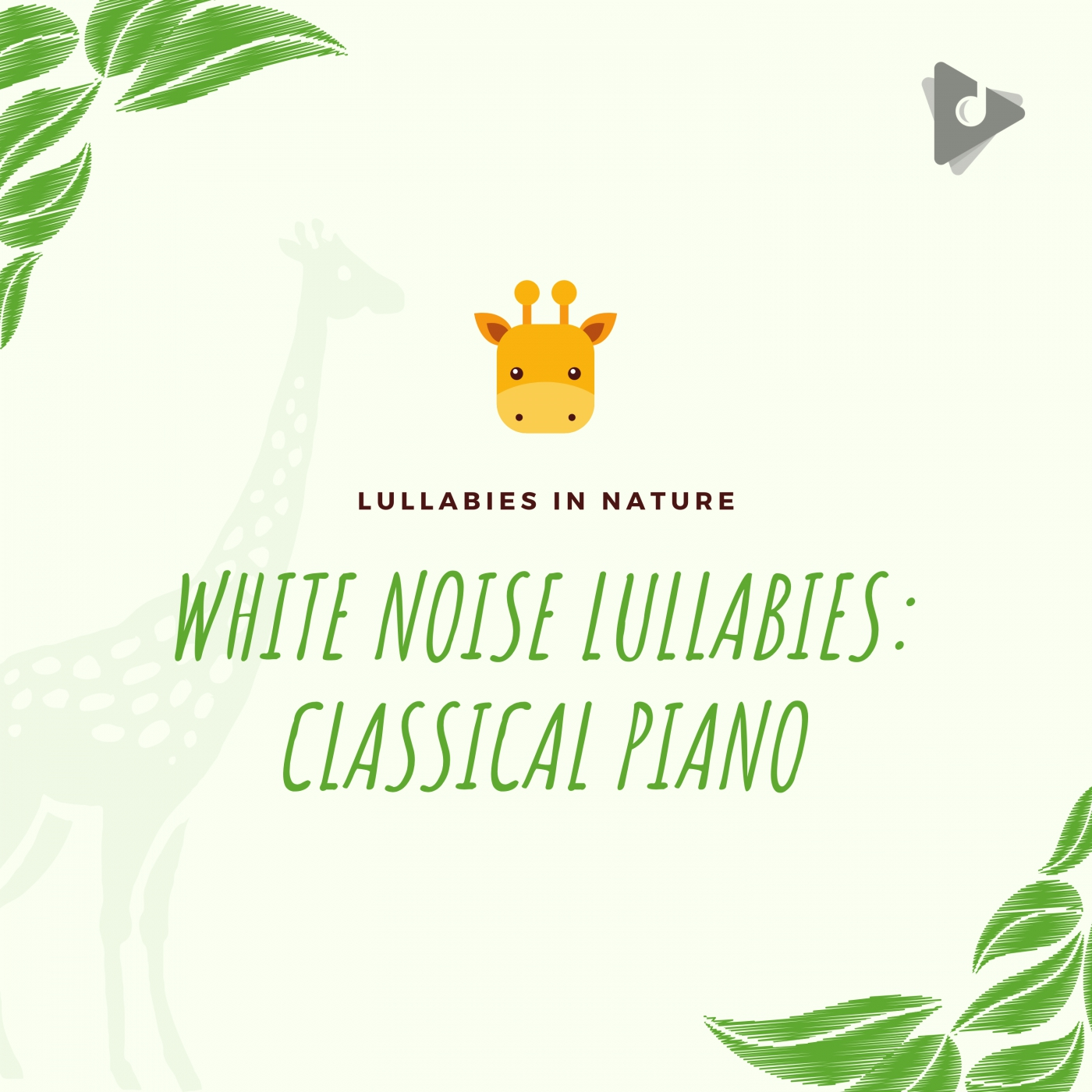 White Noise Lullabies: Classical Piano