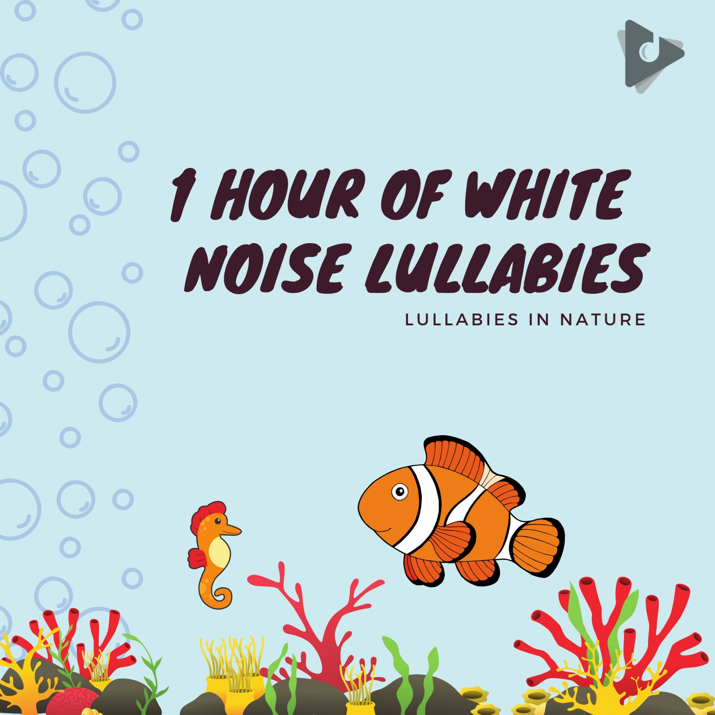 1 Hour of White Noise Lullabies