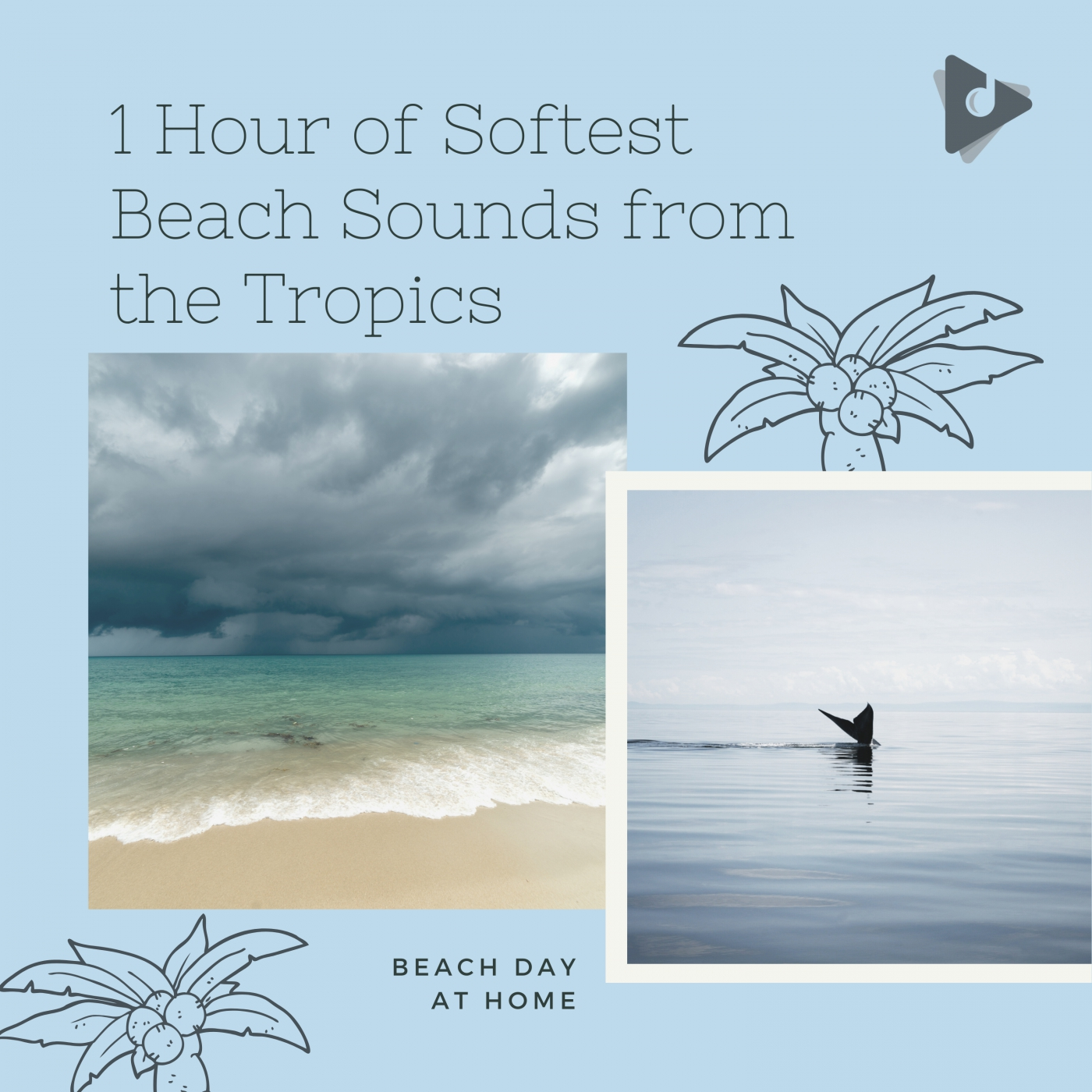 1 Hour of Softest Beach Sounds from the Tropics