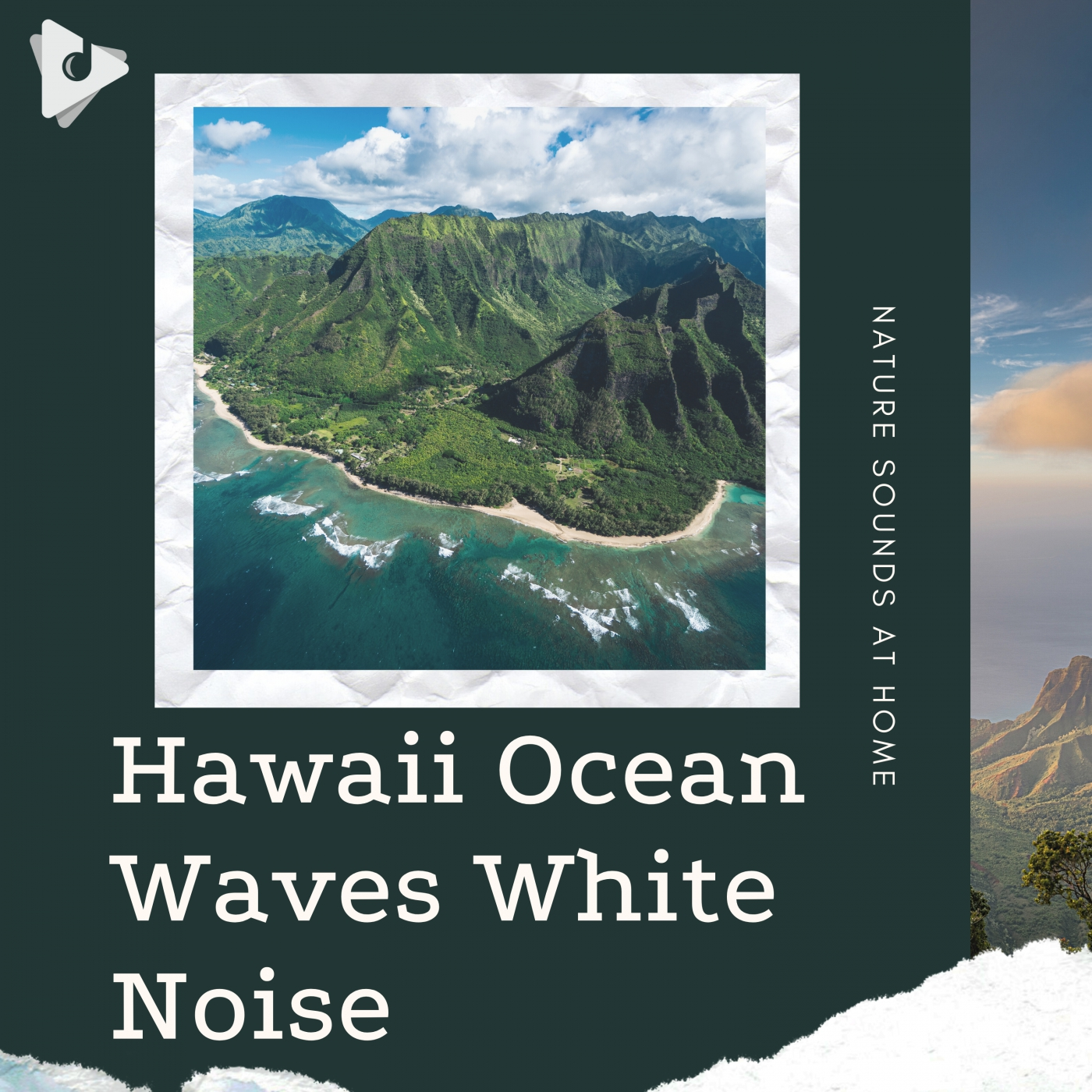 Hawaii Ocean Waves White Noise