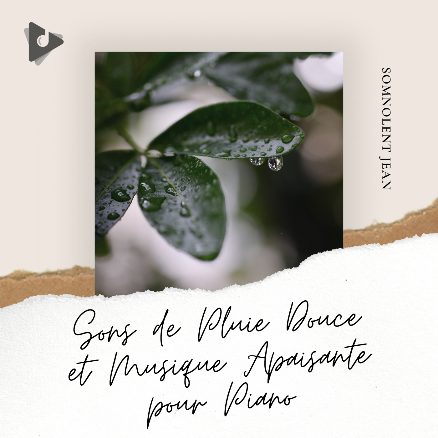 Sons de Pluie Douce et Musique Apaisante pour Piano