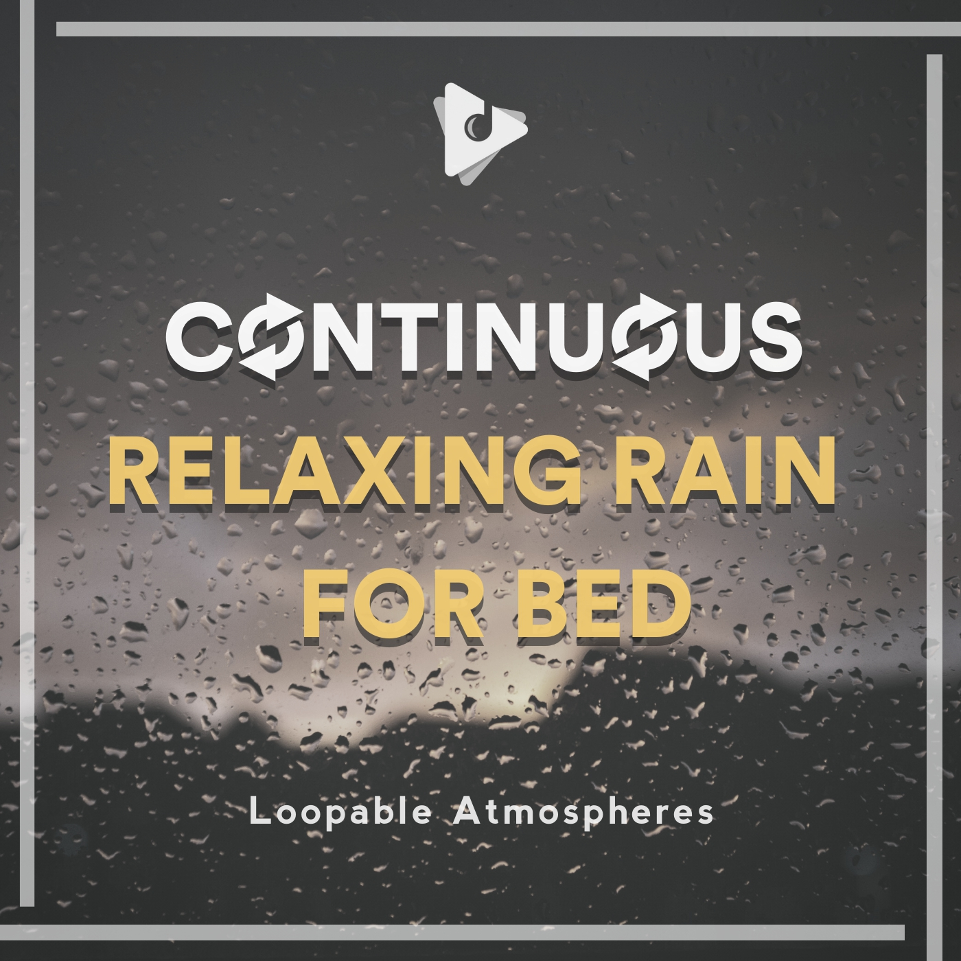 Continuous Relaxing Rain for Bed