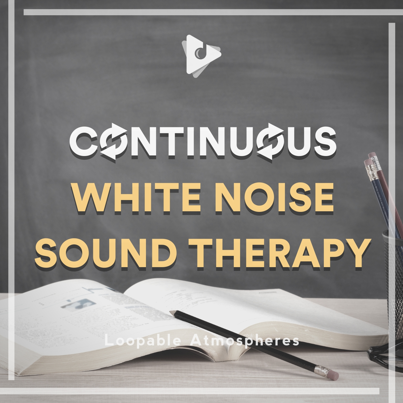 Continuous White Noise Sound Therapy