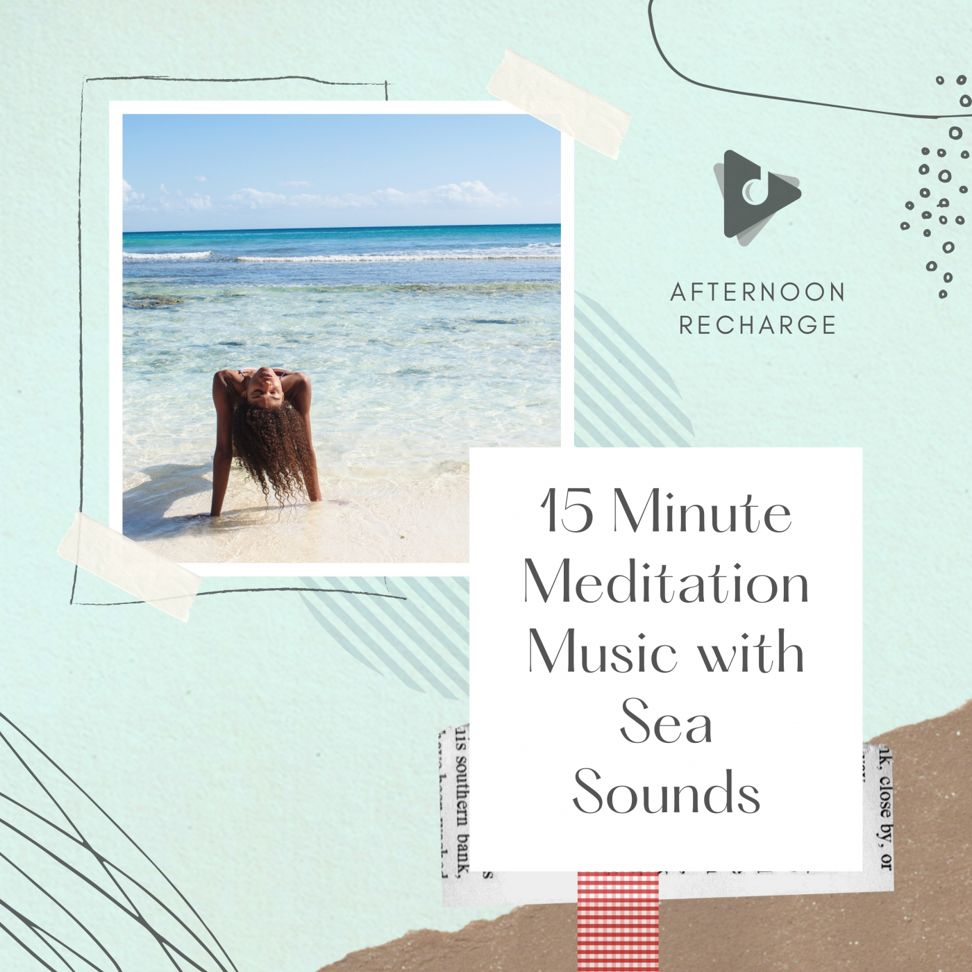 15 Minute Meditation Music with Sea Sounds