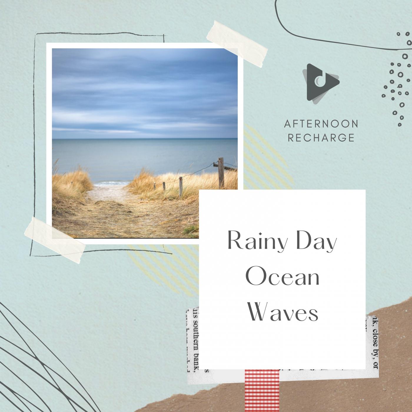 Rainy Day Ocean Waves