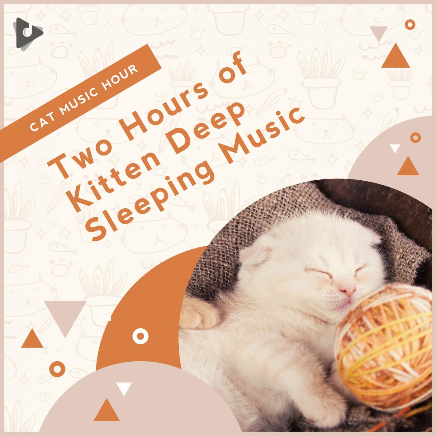 Two Hours of Kitten Deep Sleeping Music