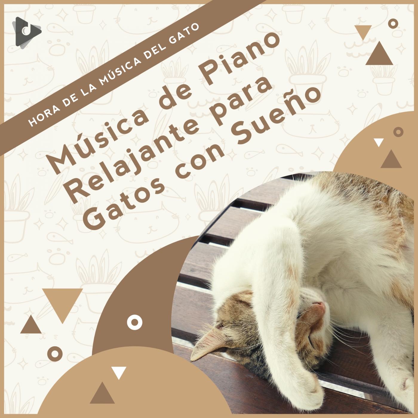 Música de Piano Relajante para Gatos con Sueño