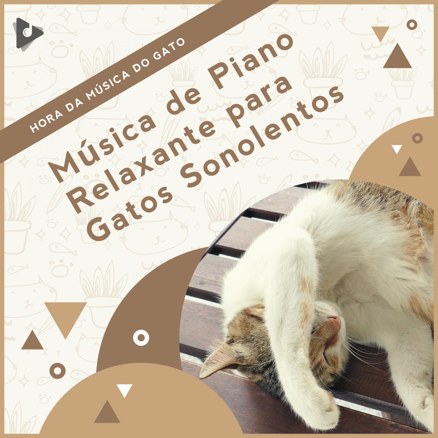 Música de Piano Relaxante para Gatos Sonolentos