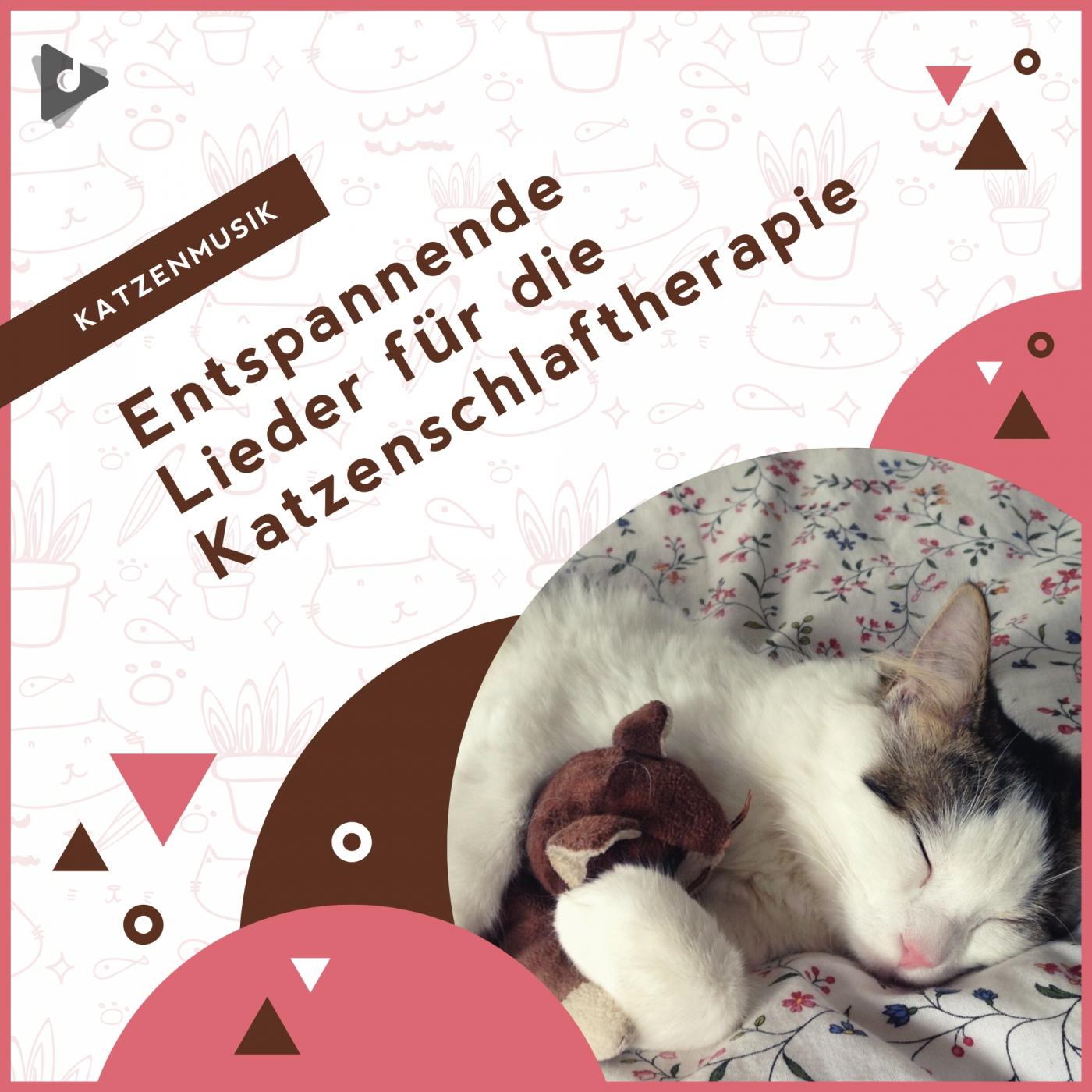 Entspannende Lieder für die Katzenschlaftherapie