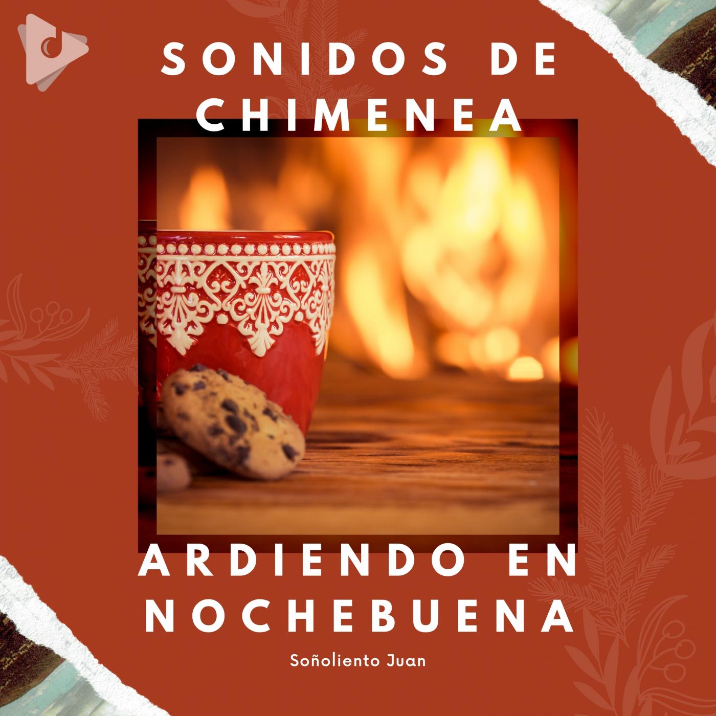 Sonidos de Chimenea Ardiendo en Nochebuena